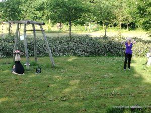 Træning i Ferritslev Bypark